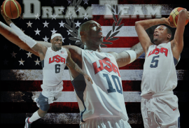 dream team kobe ,lebron, durant